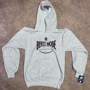 gamecock football youth large hoodie